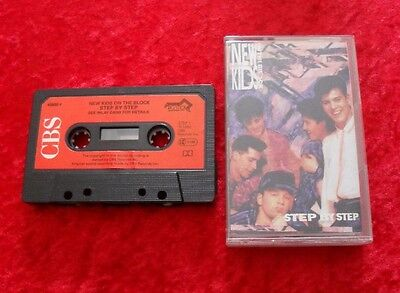 MC New Kids On The Block - Step by step - Musikkassette Cassette