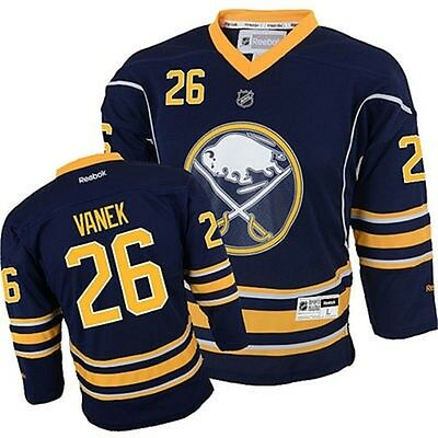 NHL Buffalo Sabres Thomas Vanek Youth Ice Hockey Shirt Jersey