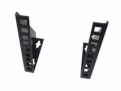 "3U 19"" Rack Bracket for WALLMOUNT VERTICAL HANG or DESKTOP/SURFACE MOUNT"
