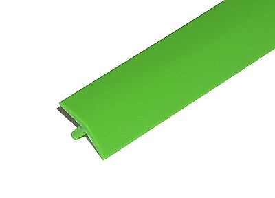 20ft of 3/4 Bright Green T-Molding for Arcade Games or Mame Machines