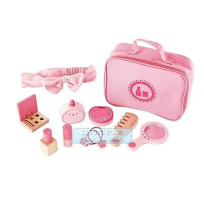 Hape Wooden Make-up Cosmetic Beauty Set Pretend Play Toy For Girls