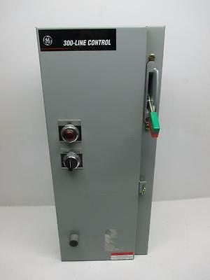 General Electric 300-Line Combo Starter 60A Size 2 Fusible