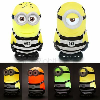 Despicable Me Minions Illumi-Mates Colour Changing Lights Dave, Kevin, Or Stuart