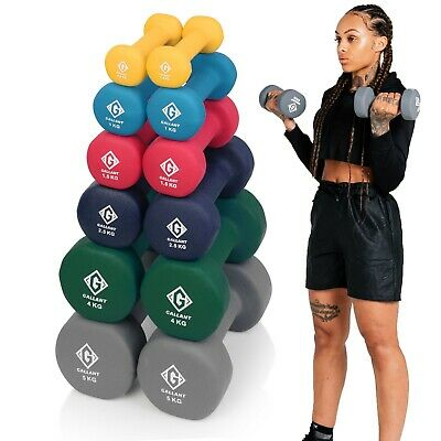 Weights Neoprene Hand Dumbells Iron Home Gym Fitness Aerobic Ladies Men Exercise