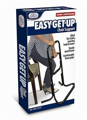 Easy Get Up Chair Support Assist Bar Ladder Couch Help Helper Bed Rise Sit Stand
