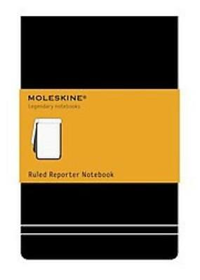 Moleskine Ruled Reporter Notebook - Not Available (Na) - New Hardcover Book