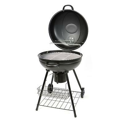 Kugelgrill holzkohle grill xxl 57cm b ware eur 42 99 for Grill holzkohle
