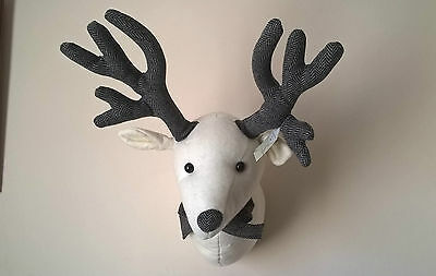 QUALITY Reindeer Stag Head Decoration Brand New From Langs Fabric Great Price!!