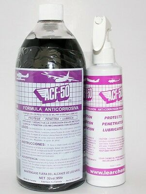 ACF50 ACF-50  Quart Motorcycle Car Caravan Boat Jet Ski Anti Corrosion Spray