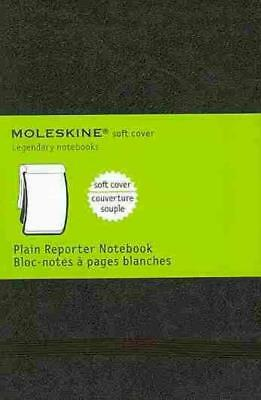 Moleskine Soft Cover Plain Reporter Notebook - Moleskine (Cor) - New Hardcover B