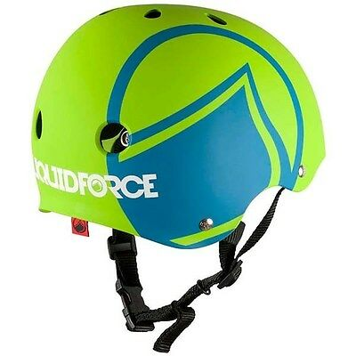 Liquid Force Icon Youth Medium Helmet - Green/Blue