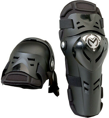 Moose Racing XCR Knee Guards Pair One Size Black