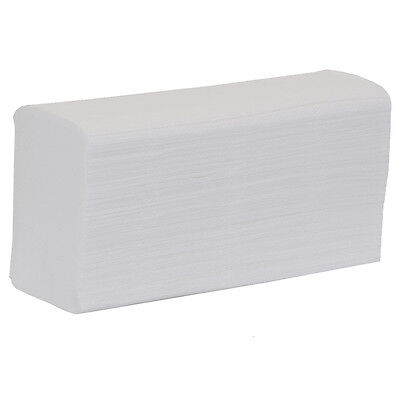 Esfina White Interfold Paper Hand Towel Carry Pack - Case of 3024