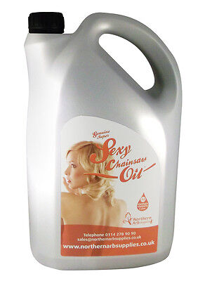 Chainsaw Bar Oil 5 Litre Bottle Suitable For All Makes Of Saws