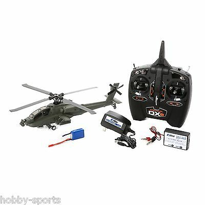 Blade Micro AH-64 Apache RTF Helicopter With AS3X Spektrum 2.4GHz DXe BLH2500
