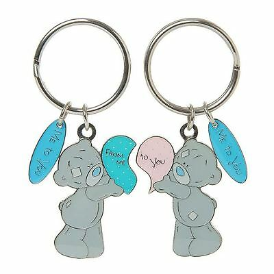 Me to You 2 Part Heart Keyring From Me to You Gift - Tatty Teddy Bear