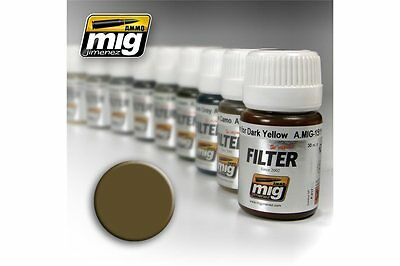 AMMO OF MIG A.MIG-1504 Filter Brown for Desert Yellow 35ml