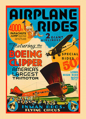 POSTER AVIATION WEEK CHAMPAGNE 1909 AIRPLANES AIR RACING VINTAGE REPRO FREE S//H