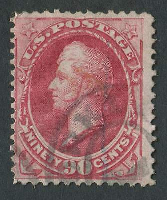 USA 1873 SG.168 90 cents Red Fine Used