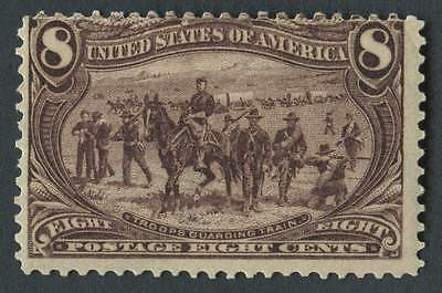 USA 1898 SG.295 8 cents Mounted Mint