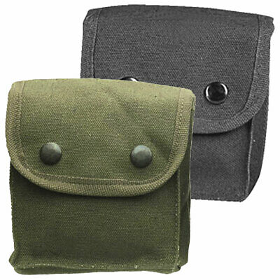 Small Canvas Para Utility Tool DIY Work Multi-Tool Belt Pouch    Black or Green