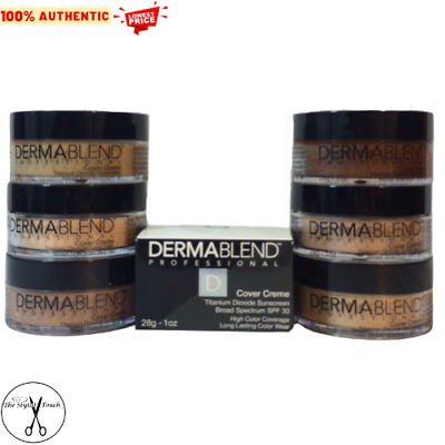 DERMABLEND Cover Creme 1 OZ. DROPDOWN MENU U CHOOSE LIGHTNING FAST SHIPPING