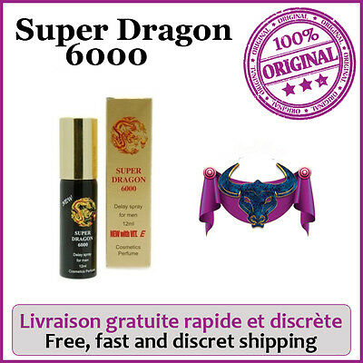 Super Dragon 6000 ®, plus Puissant que le Stud 100 spray .Enrichi en vitamine E.