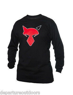 JACKALL BLACK LONG SLEEVE TEE SHIRTS select sizes