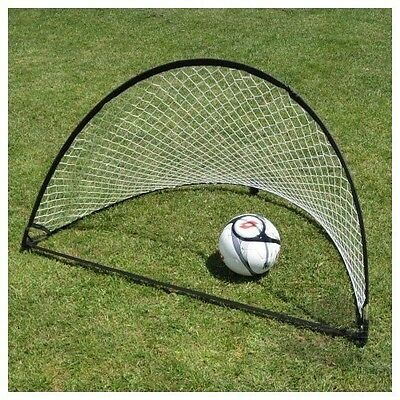 SS Sports 4 Footer Portable Pop-up Training Soccer Goal Set (Two Goals & Bag)