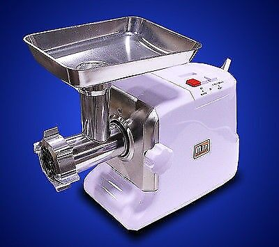 New MTN Power 2400W Electric Meat Grinder Sausage Stuffer Free Tubes Metal Gear