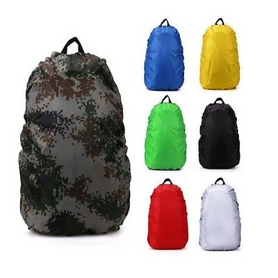 Waterproof Travel Camping Hiking Backpack Luggage Bag Dust Rain Cover 35L/45L