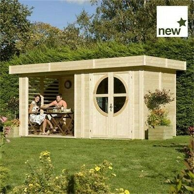 GARDEN STRUCTURE TIMBER WOODEN Connor Leisure Cabin