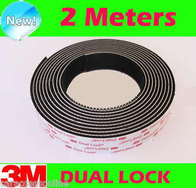 3M DUAL LOCK Reclosable fastener tape SELF ADHESIVE HOOK LOOP 2 meters roll