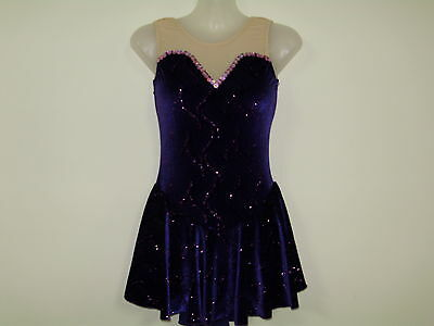 ICE/ DANCE/SKATE COSTUME LADIES xsmall  NEW DS Designs
