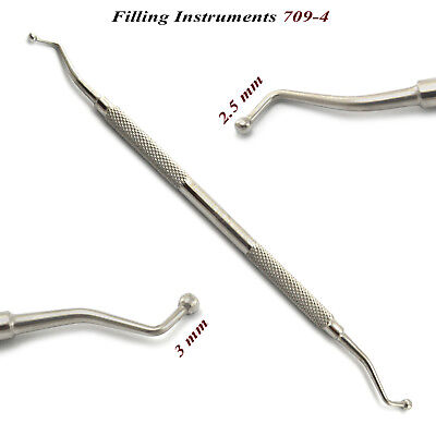 Dental Filling Instrument 709-4 Amalgam Plastic Filling Instruments Dentist Tool