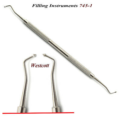 Dental Westcott Filling Instrument 745-1 Amalgam Filling Restorative Hand Tools