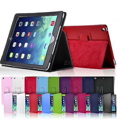 New Smart Wake-Up/Sleep Flip Leather Case Cover for New iPad Mini 4 4th Gen