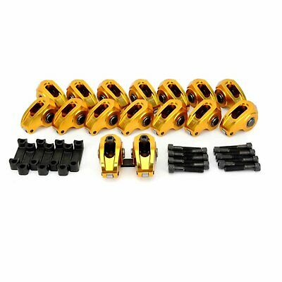 Comp Cams Ultra-Gold Aluminum Roller Rocker Arms Gm Ls Ls1 Ls2 Ls6 1.72 Ratio