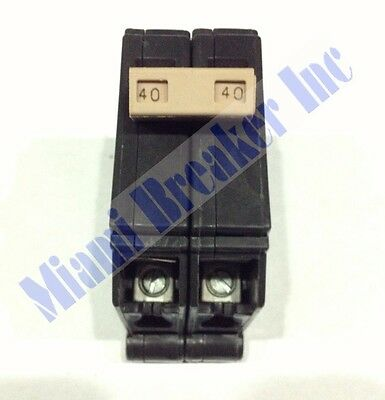 CH240 Cutler-Hammer Type CH Circuit Breaker 2 Pole 40 Amp 240V