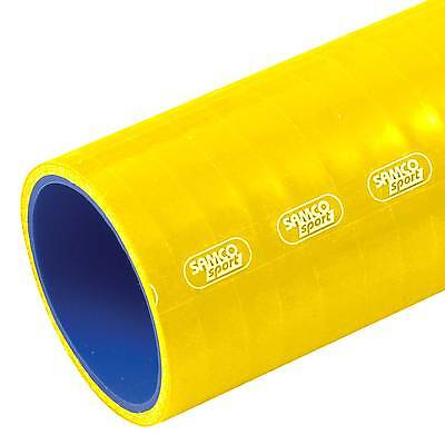 Samco Air & Water Straight 1m Length Silicone Hose 51mm Bore In Yellow