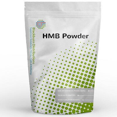 Hmb Powder 1Kg - 100% Pure - Muscle, Strength, Bodybuilding