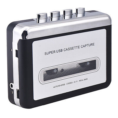 Audio Music Player Tape to PC Super USB Cassette Capture to MP3 Converter