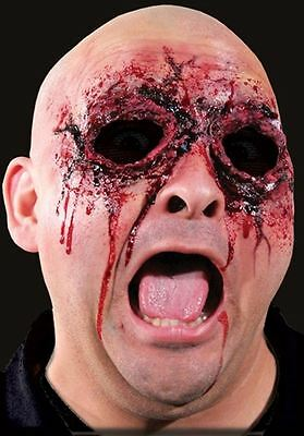 See No Evil Woochie Latex Appliance, Blackout Eyes, Halloween Special FX