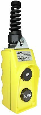 SUNS CSB-272Y-HGA UL Listed Yellow Up/Down Pendant Station 2NO 9001BW92Y