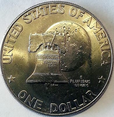 10 Eisenhower Dollars TYPE 1 Coin Lot 1976 Bicentennial AU - UNC Ike