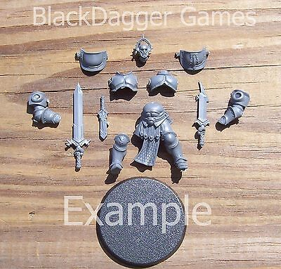 W:AOS Stormcast Eternals  Liberator w/ Paired Warblades Single Figure Bits