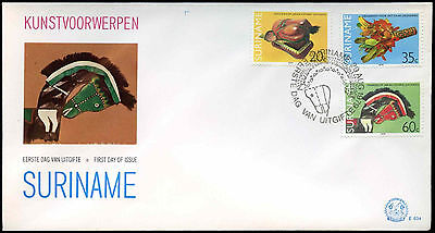 Suriname 1979, Art Objects FDC First Day Cover #C30201