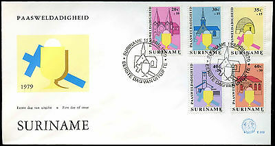 Suriname 1979, Easter Charity FDC First Day Cover #C30199