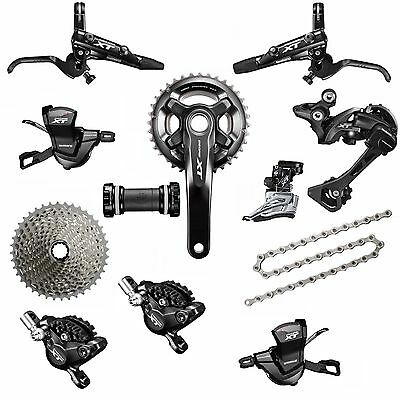 Shimano Deore XT FC-M8000 36/26T 2 x 11 Speed MTB Mountain Bike Groupset 175 mm