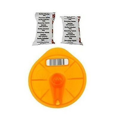 Bosch Tassimo Orange Service Cleaning Disk Disc & 2 Descaling Tablets